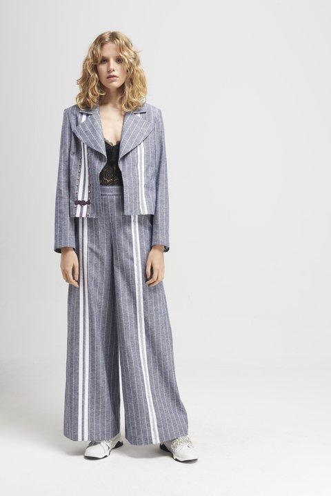 traje de lino mujer Naima verano 2020