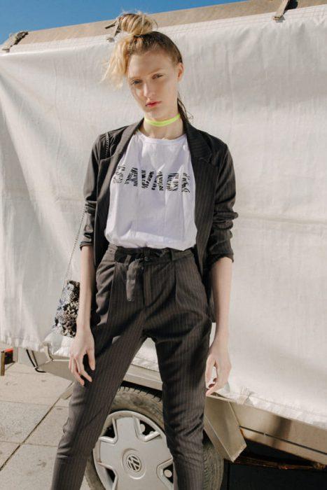 traje informal para mujer verano 2020 Tierra 316