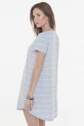 vestido algodon basico primavera verano 2020 Mujer Nuss tejidos