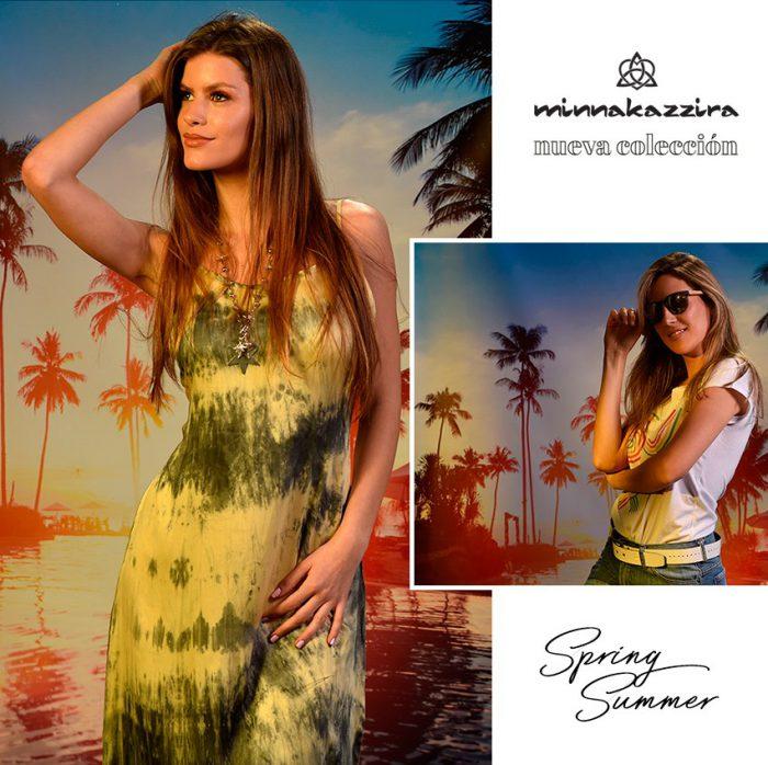 vestido barik casual Minnakazzira verano 2020