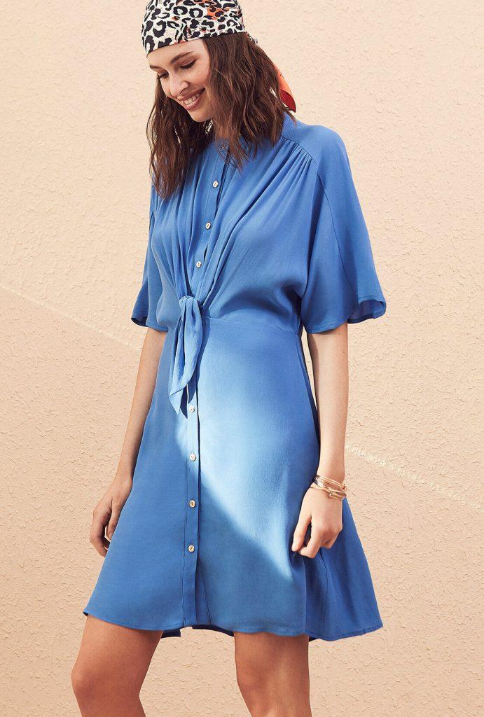 vestido camisero corto primavera verano 2020 vitamina