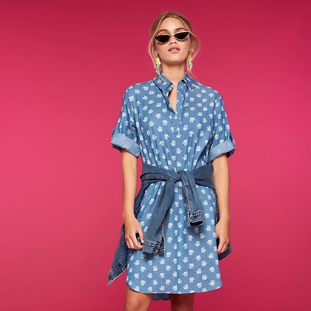 vestido casual a lunares Agustina Saquer primavera verano 2020