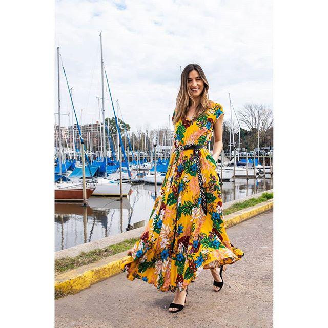 vestido estampado verano 2020 Benjamina