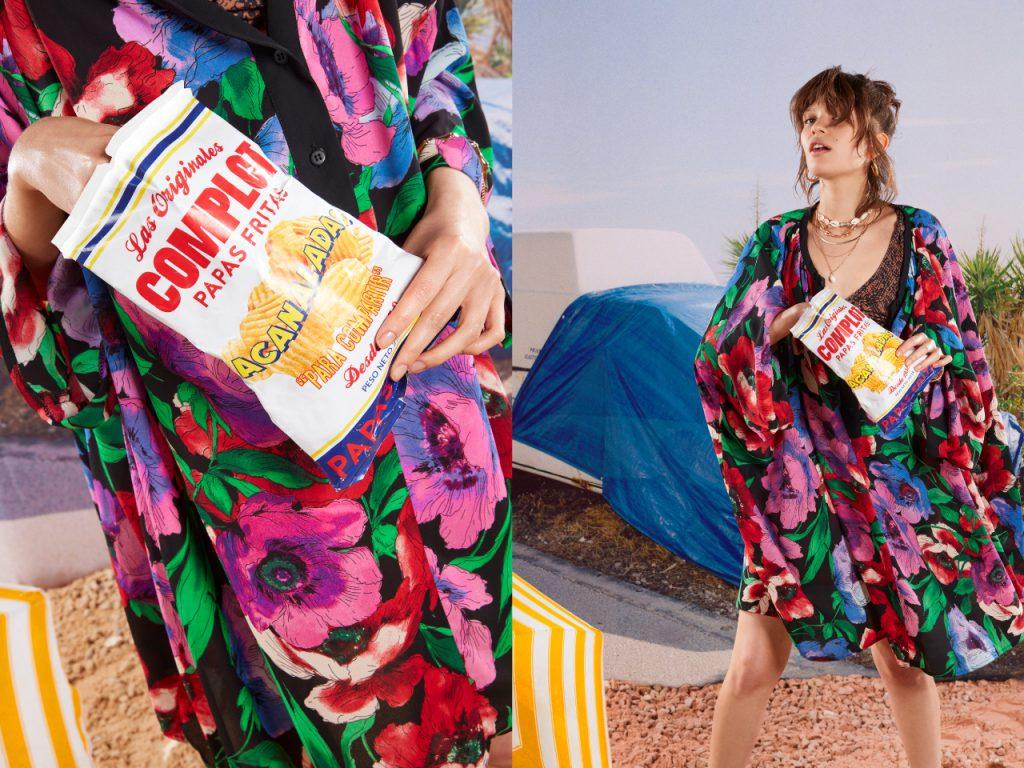 vestido estilo tunica para la playa Complot verano 2020