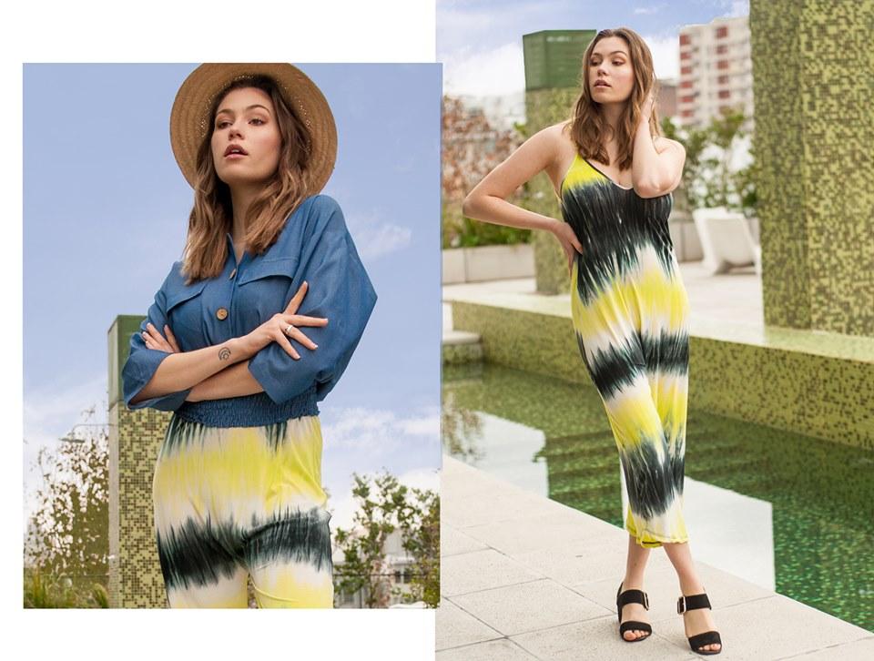 vestido y palazzo batik Tramps verano 2020