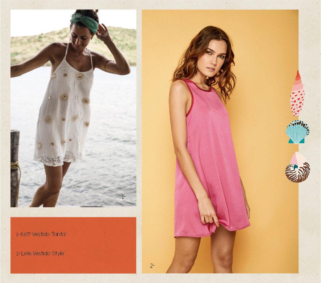 vestidos informales Boho chic Rimmel verano 2020