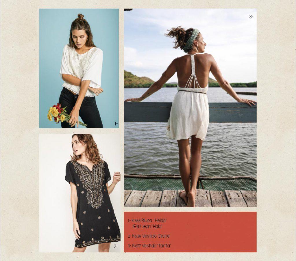 vestidos para el dia casual Boho chic Rimmel verano 2020
