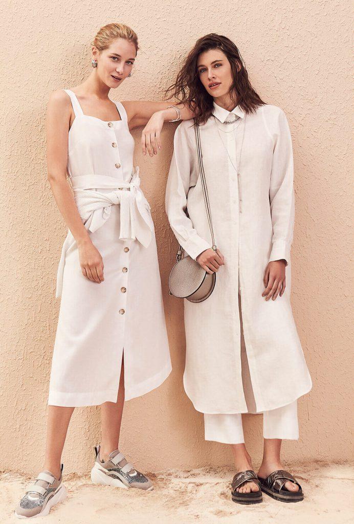 vestios y pantalones de lino primavera verano 2020 vitamina