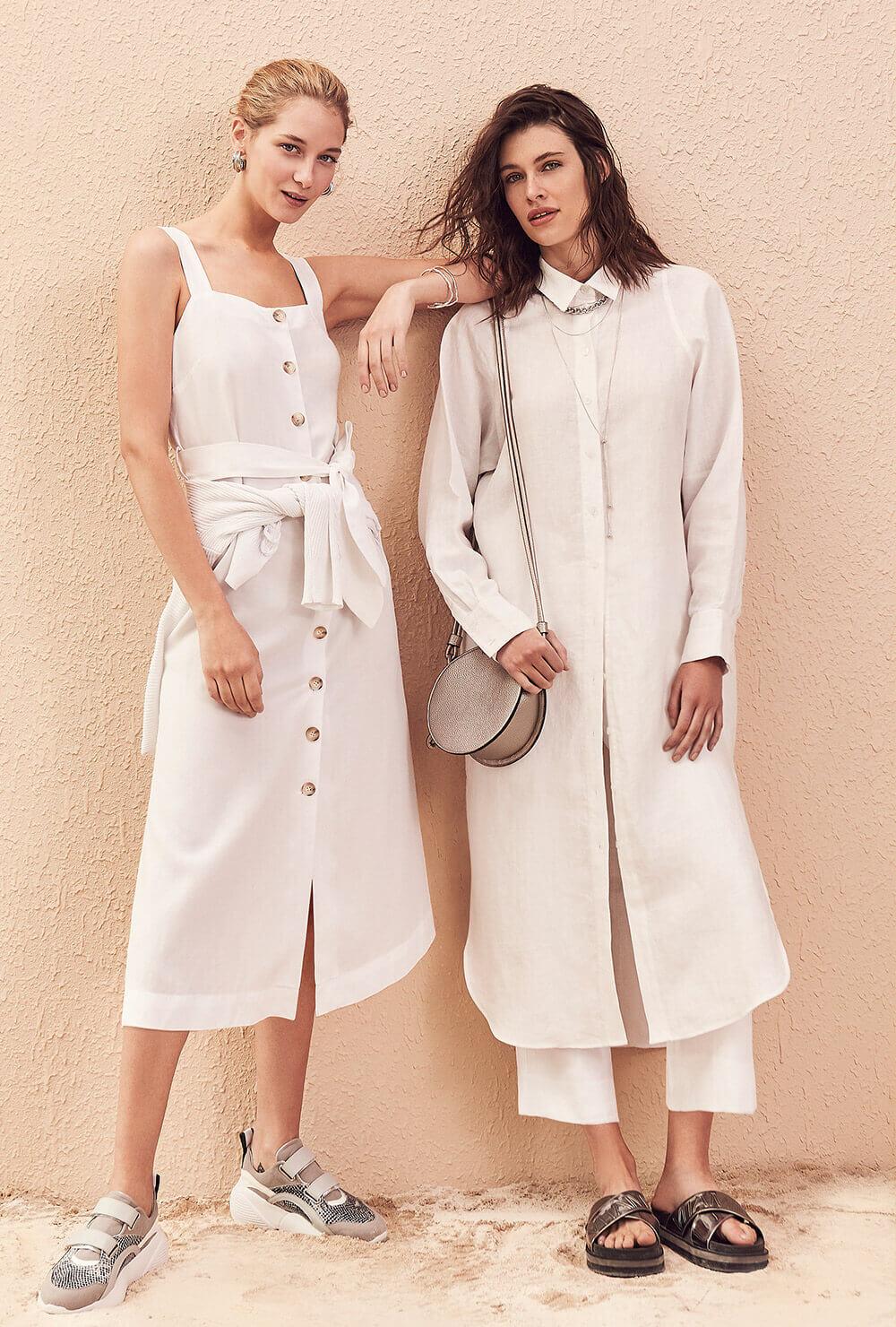 vestios y pantalones de lino primavera verano 2020 ...