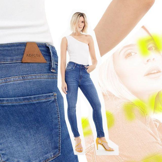 Adicta Jeans chupin minifaldas verano 2020