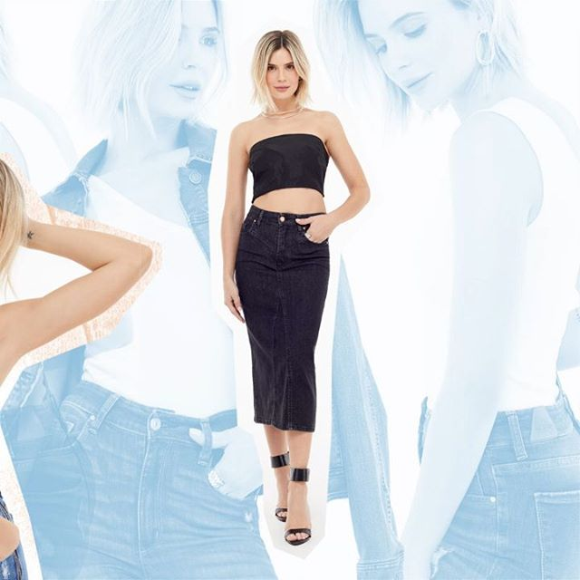 Adicta Jeans pollera tubo verano 2020