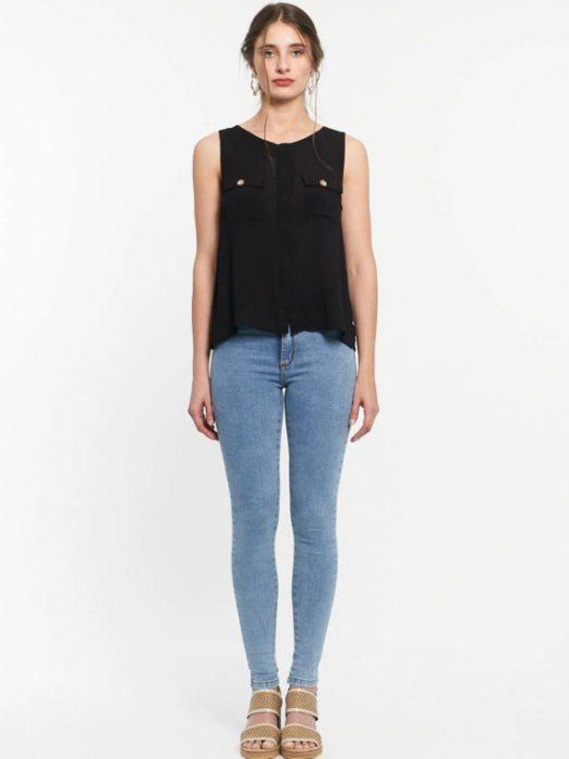 Af jeans chupin elastizado verano 2020