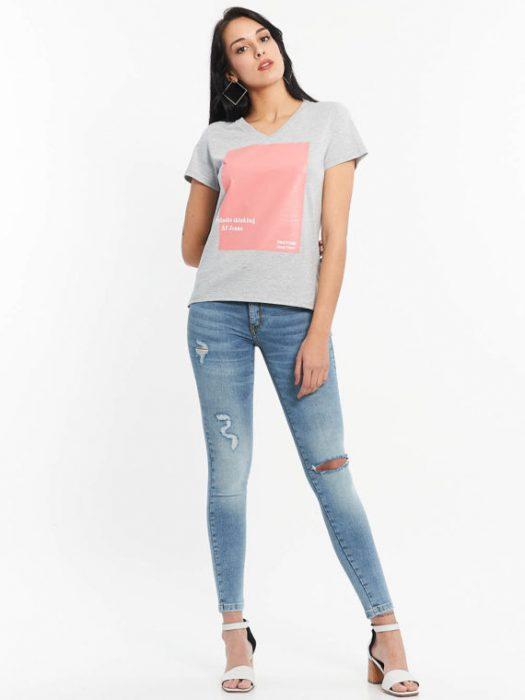 Af jeans con roturas verano 2020