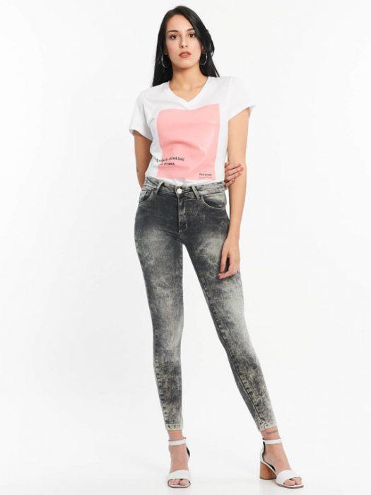 Af jeans negro nevado verano 2020