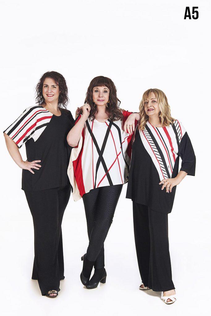 Blusas y pantalones talles grandes verano 2020 Loren