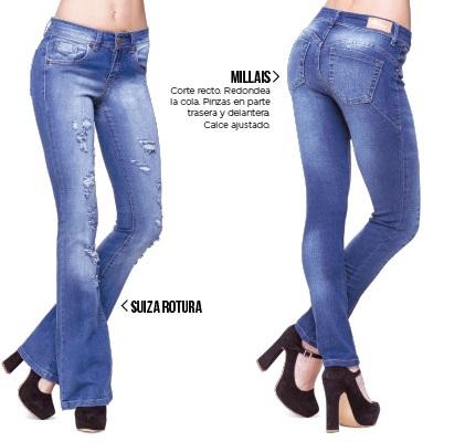 Octanos jeans oxford con roturas primavera verano 2020