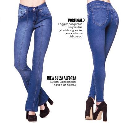 Octanos jeans oxford o chupin primavera verano 2020