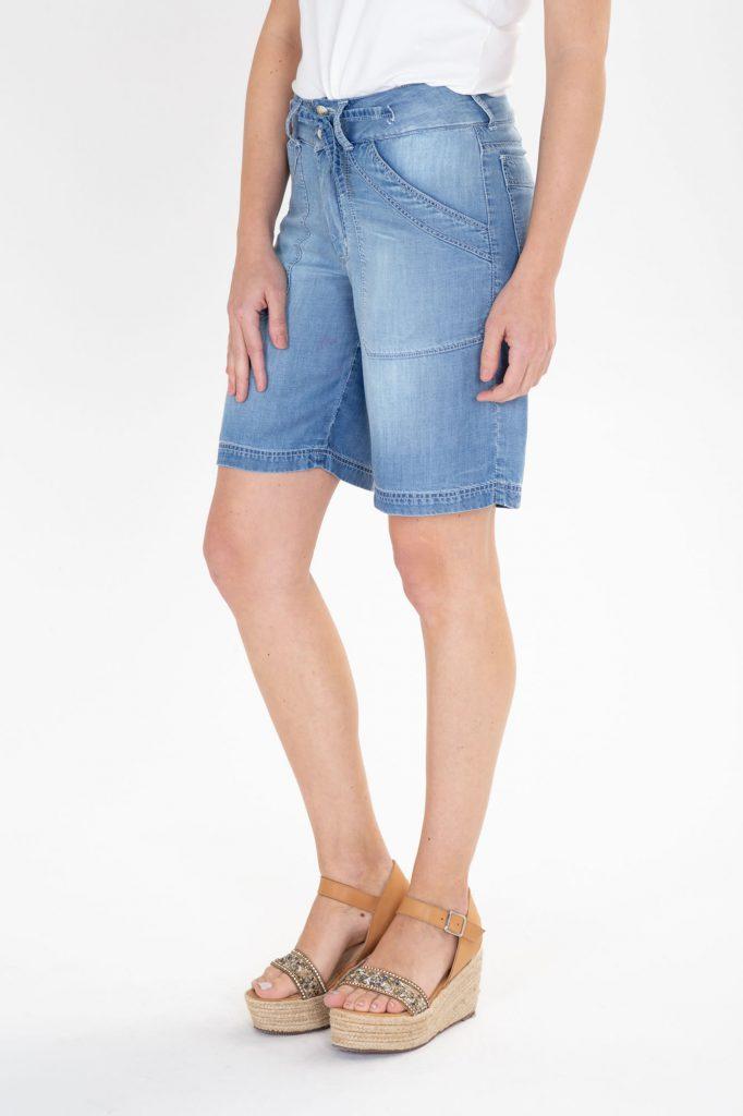bermuda jeans holgada verano 2020 Adriana Costantini