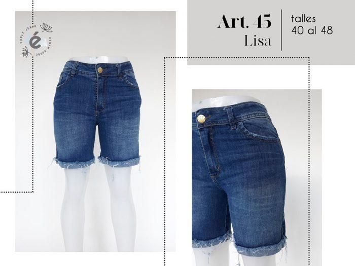 bermuda jeans mujer ecole verano 2020