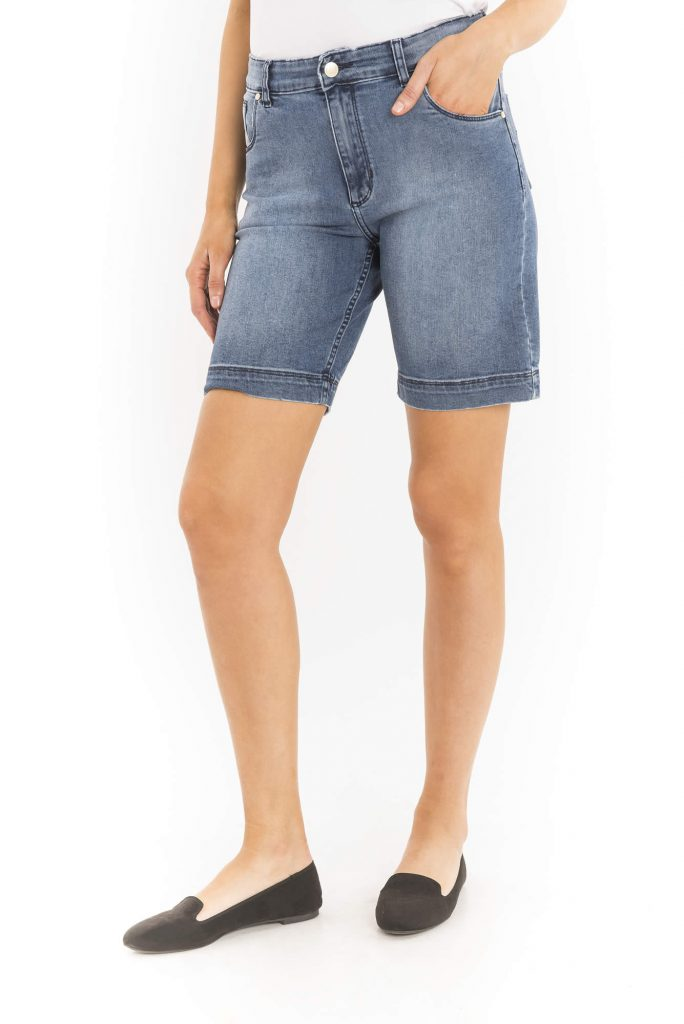 bermuda jeans para señoras clasicas verano 2020 Adriana Costantini