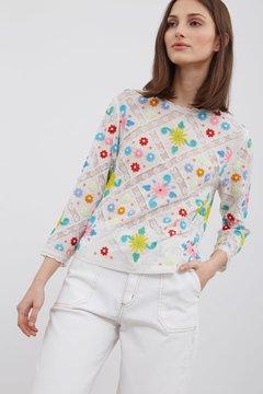 blusa bordada primavera verano 2020 Vero Alfie