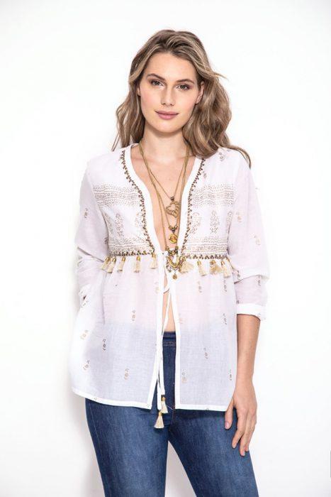blusa bordada sophya verano 2020