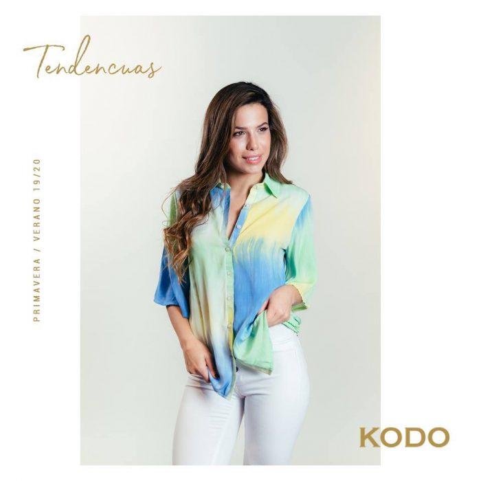camisa batik mujer kodo jeans verano 2020