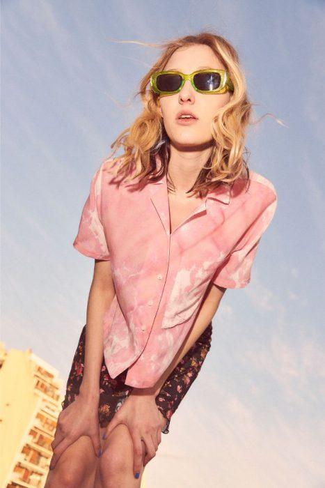 camisa batik verano 2020 Kimeika