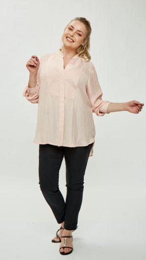 camisa talles grandes mujer Mamy blue verano 2020