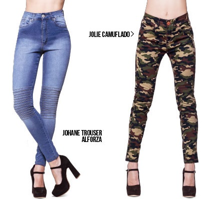 jeans camuflado Octanos jeans primavera verano 2020