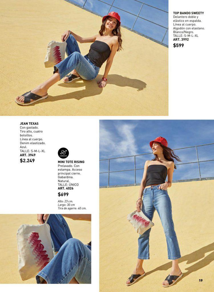 jeans capri juvenil Wineem verano 2020