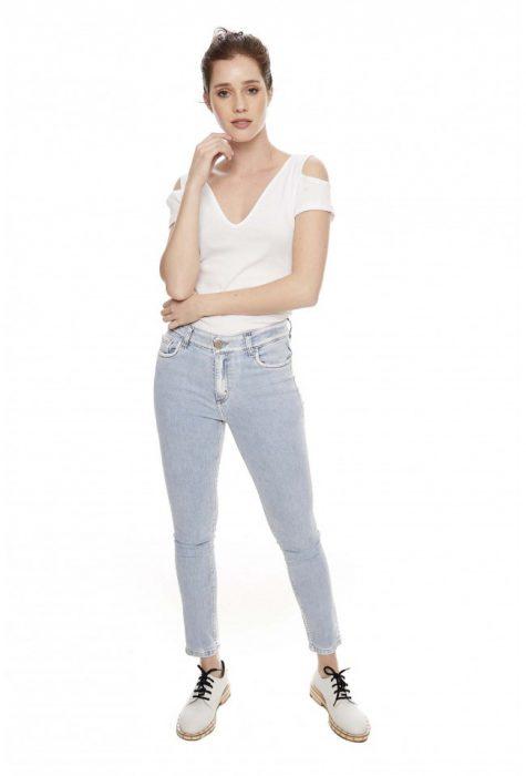 jeans chupin claro primavera verano 2020 Sweet