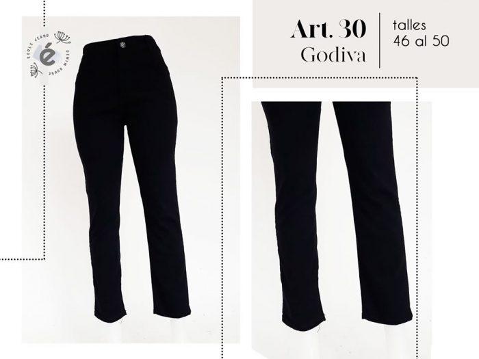 Jeans Negro Recto Mujer Ecole Verano 2020 Notilook Moda Argentina