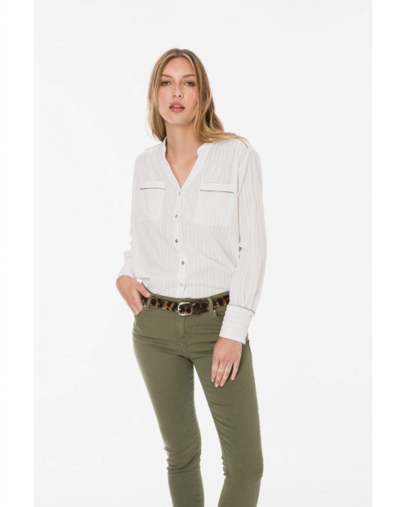 jeans verde verano 2020 Wanama Mujer