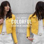 Boken – Look de moda campera de cuero primavera verano 2020