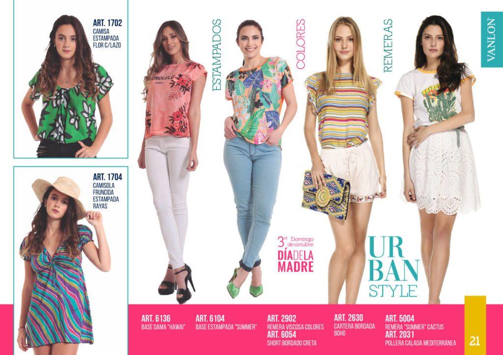 looks de moda urbana mujer Vanlon verano 2020