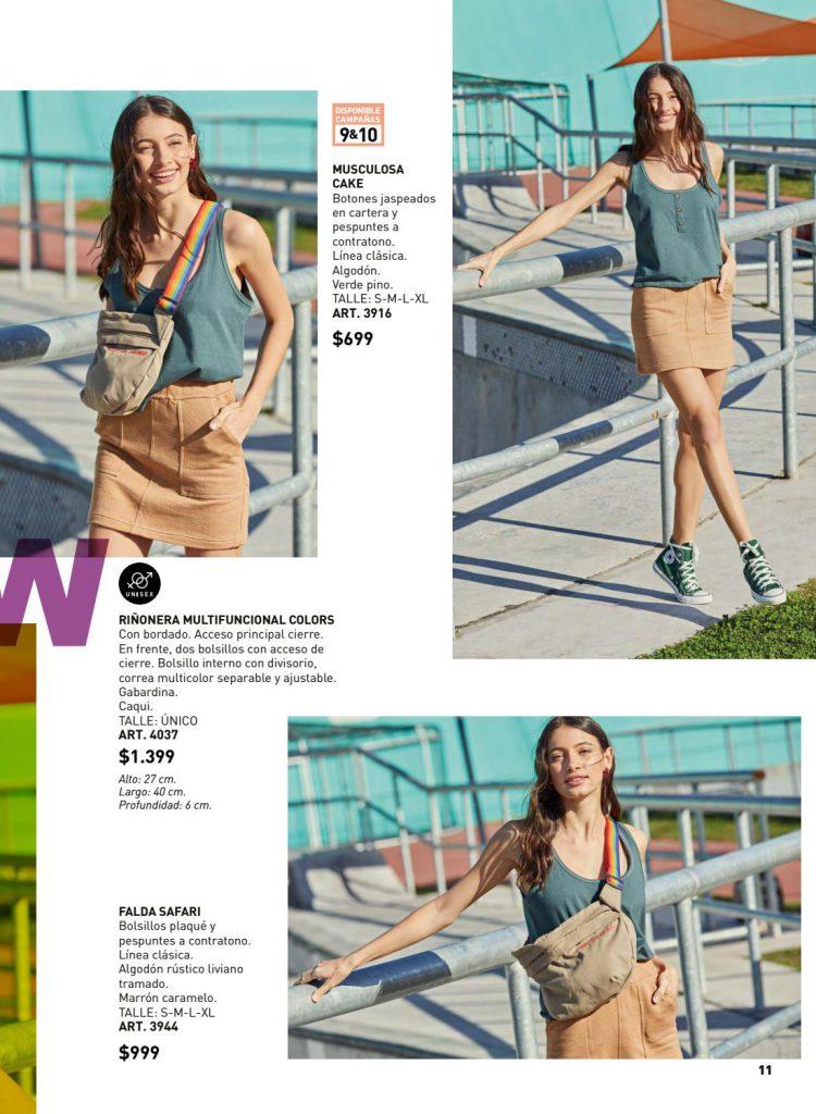 minifalda casual juvenil Wineem verano 2020