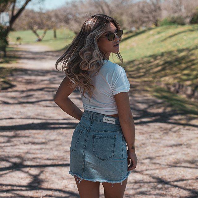 minnifalda jeans juvenil Scottkaen verano 2020