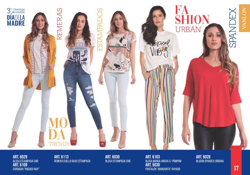 outfit casual urbanos mujer Vanlon verano 2020