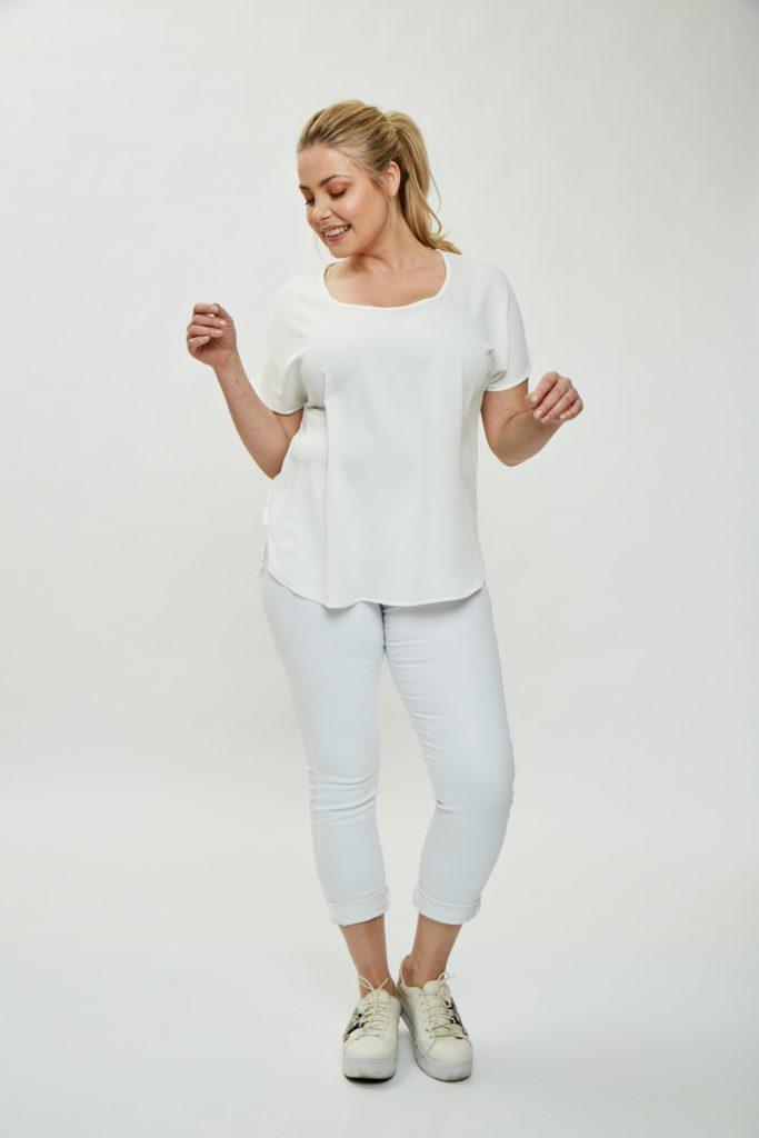 pantalon carpi blanco Mamy blue verano 2020
