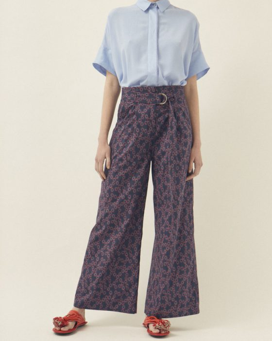 pantalon de vestir estampado Graciela Naum verano 2020