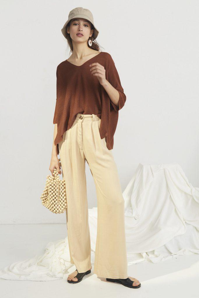 pantalon de vestir plisado mujer Bled verano 2020