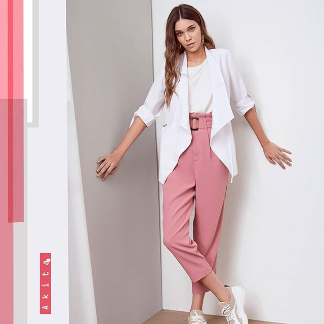pantalones de vestir juveniles Akita verano 2020