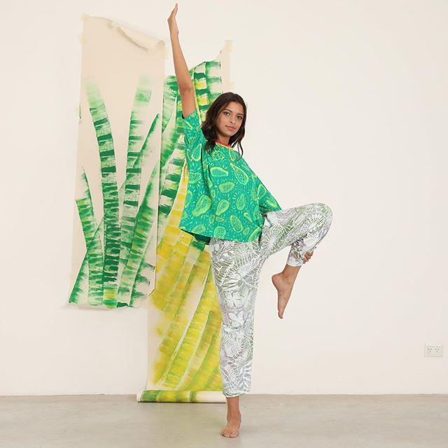 pantalones estampados para yoga Juana de arco verano 2020