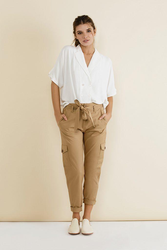 pantalones largos mujer tibetano verano 2020