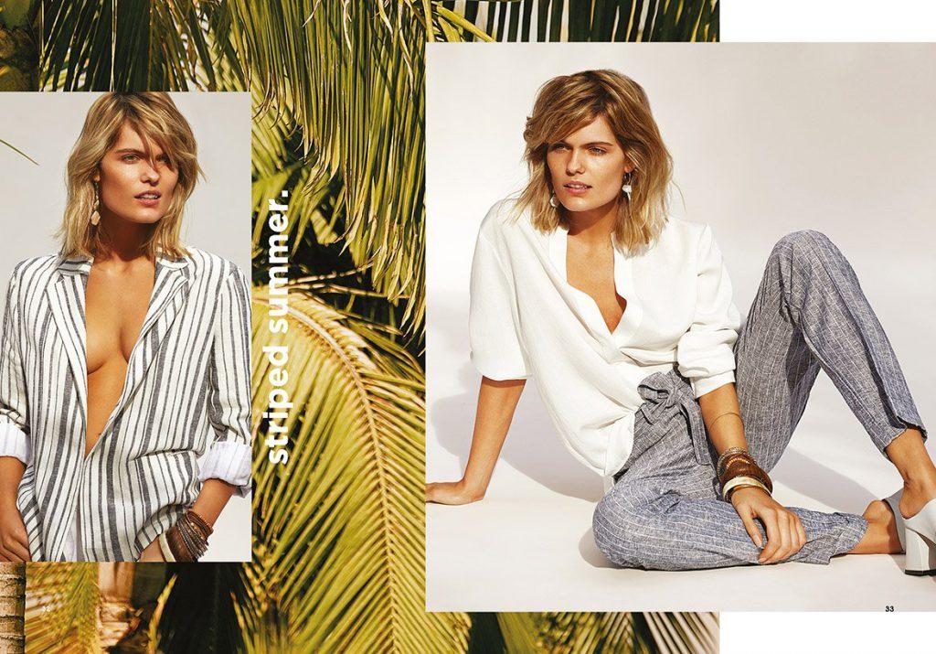pantalones largos y comodos mujer Garofalo verano 2020