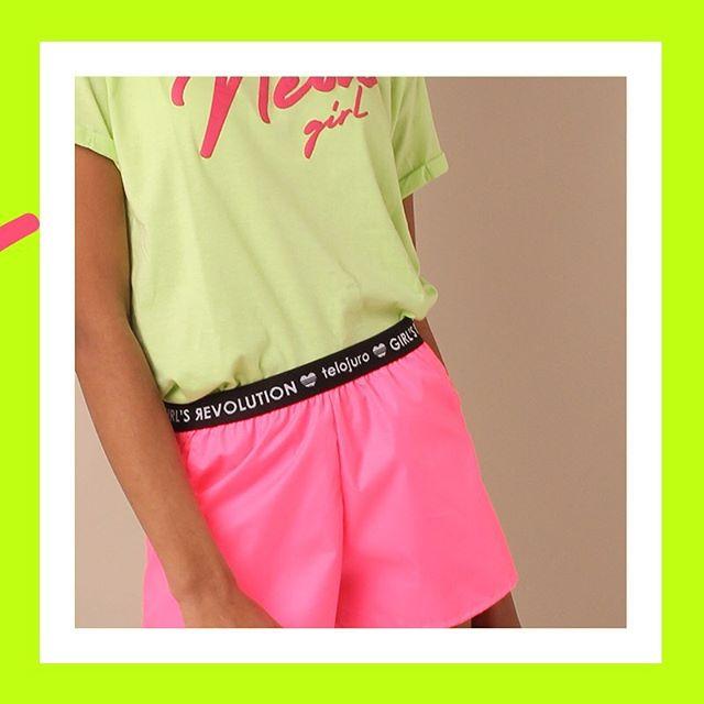 prendas en neon Te lo Juro verano 2020