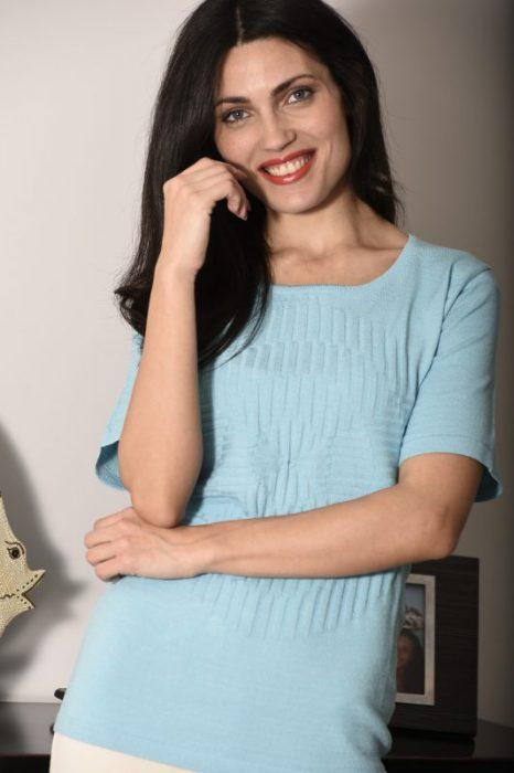 remeras de hilo para señoras Di Madani Sweaters vereano 2020