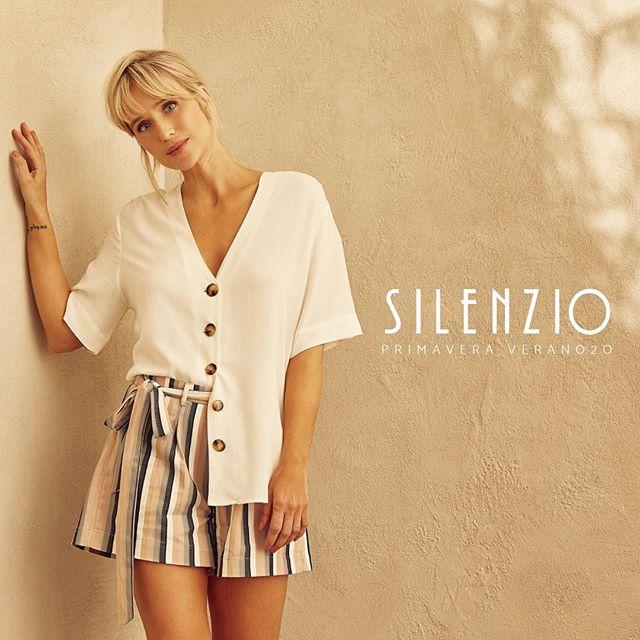 short a rayas mujer Silenzio verano 2020