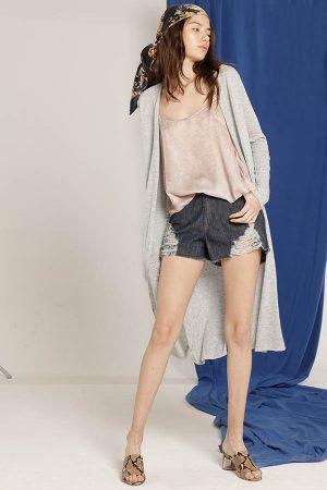 short jean juvneil sweters largos Materia Verano 2020